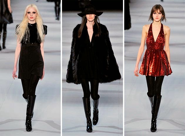 Fall/Winter 2015 Saint Laurent