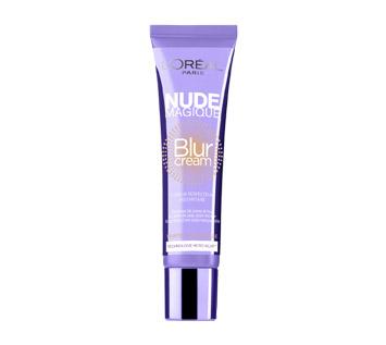 """L'Oreal - Nude Magique Blur Cream Una volta per esibire una pelle senza difetti avevi a disposizione solo il primer. Oggi puoi avvalerti della """"flash cosmetology"""", la tecnologia cosmetica che si ispira alla fotografia digitale e che ha creato il blur, il fotoritocco in crema, una innovazione che sta a metà tra make up e trattamento."""