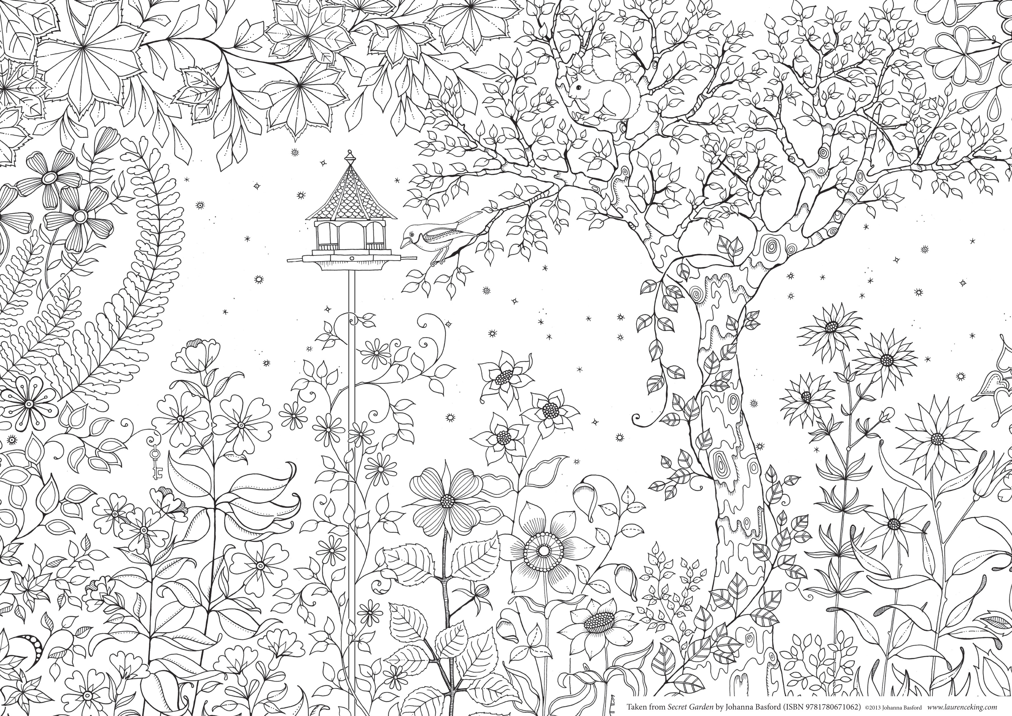garden coloring pages characters - photo#22